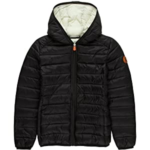 Save The Duck Giga Hooded Jacket - Girls' Black, 10