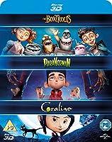 Laika 3D Boxset- Paranorman/ Coraline/ Boxtrolls [Blu-ray] [2015] [Region Free] by Universal Pictures UK