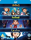 Laika 3D Boxset- Paranorman/ Coraline/ Boxtrolls [Blu-ray]