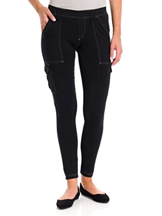 c707991979e6da Hard Tail 6 Pocket Cargo Ankle Leggings, Black/Black, XSmall at Amazon  Women's Clothing store: Leggings Pants