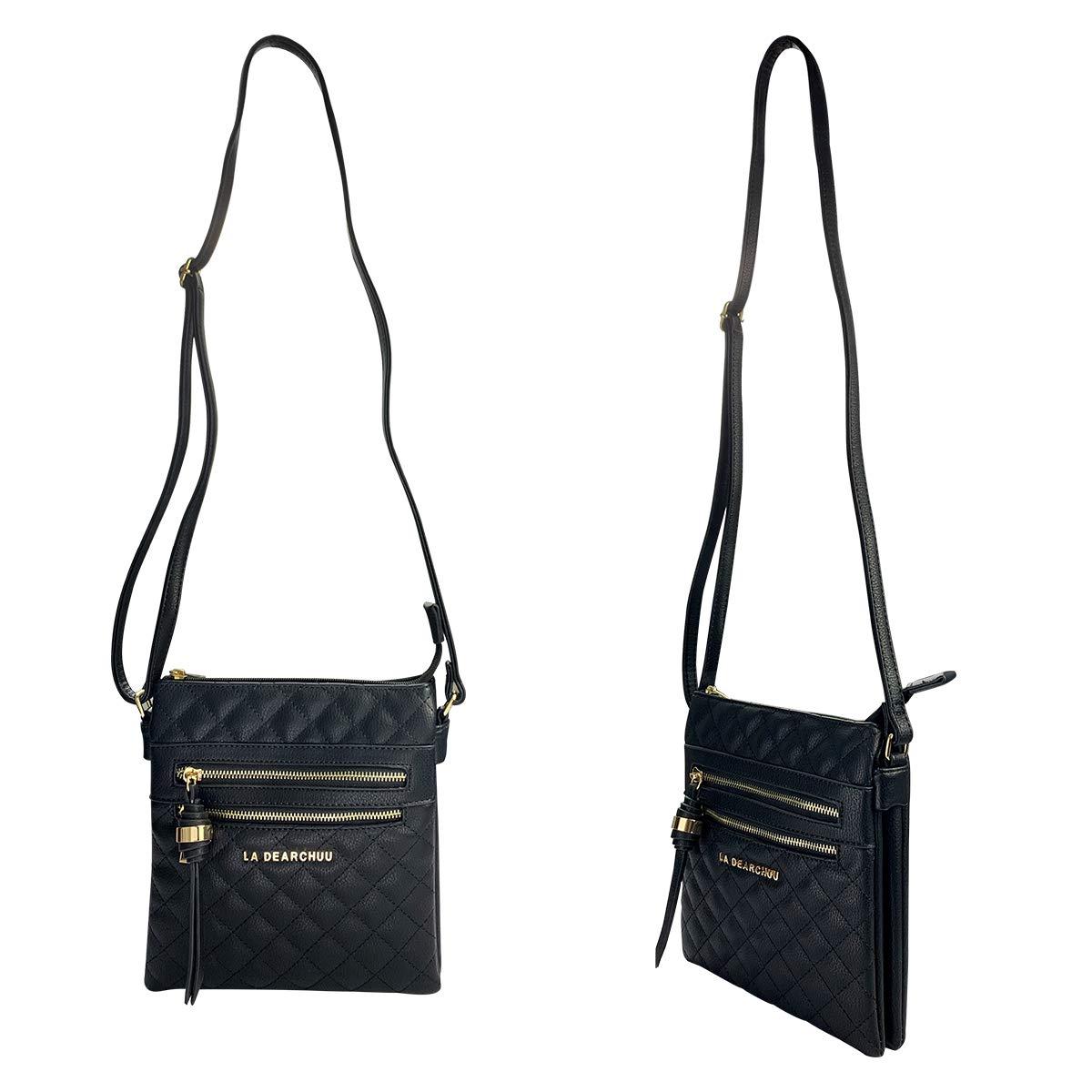 Amazon.com: La Dearchuu - Bolsas de piel sintética para ...