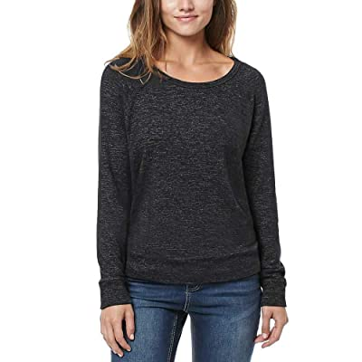 Buffalo Ladies' Long Sleeve Cozy Top (Large, Grey) at Women's Clothing store