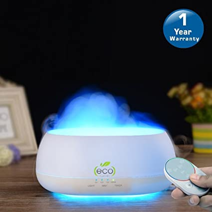 Tesco Cloud Mist Air Humidifier Aroma Diffuser With Multi Color Lamp 500ml