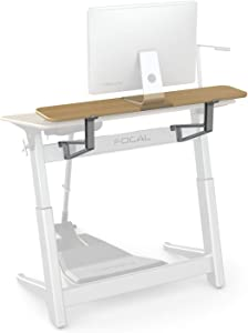 Active Collection Locus 5/6 Shelf for use with Locus 5 and Locus 6 Desks (sold separately), White Oak