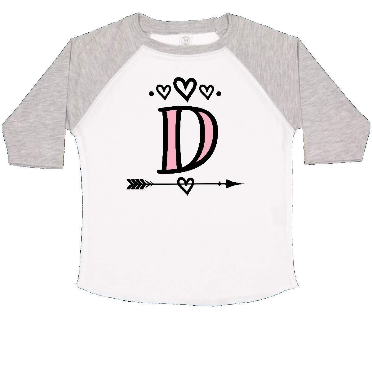inktastic Letter D Monogram Tribal Arrow Toddler T-Shirt