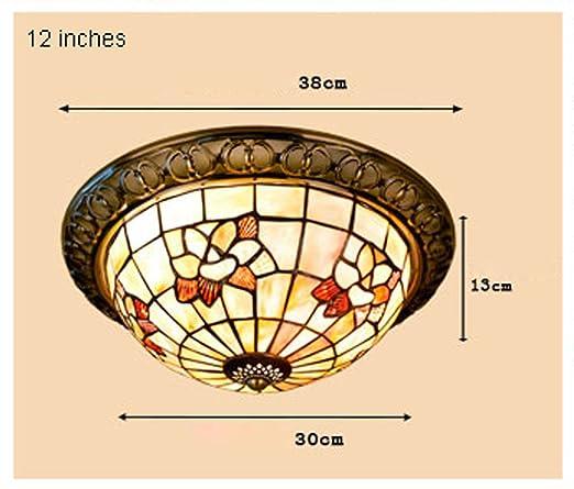 Tony Yimei Iluminación Magnolia Natural Shell Salón ...