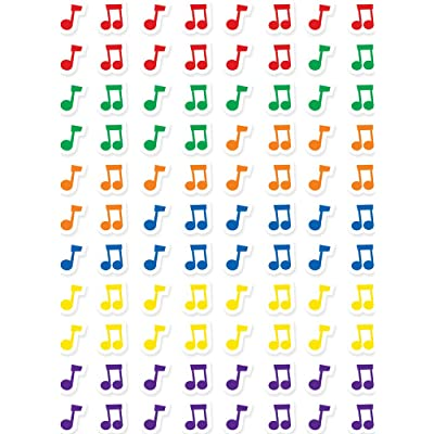 Creative Teaching Press Music Notes Hot Spots Stickers (7162), Multicolor: Office Products