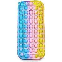 Silikonowy Pop-Bubble Piórnik Przenośny Silikonowy Sensory Fidget Zabawka Piórnik dla dzieci, Artykuły szkolne Biuro…