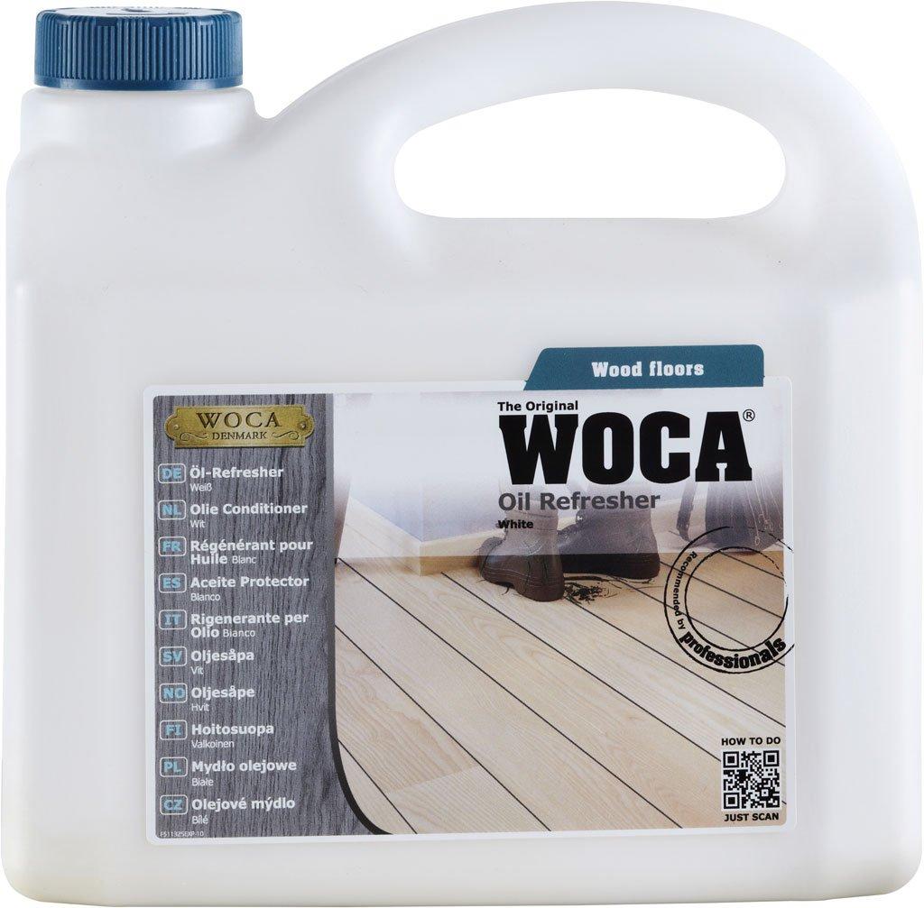 Woca - Olio rinfrescante, 1 litro, colore: Bianco