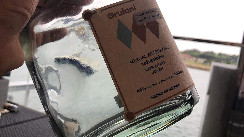 MEZCAL ARTESANAL GRULANI 100% Tobasiche: Amazon.es: Alimentación y bebidas