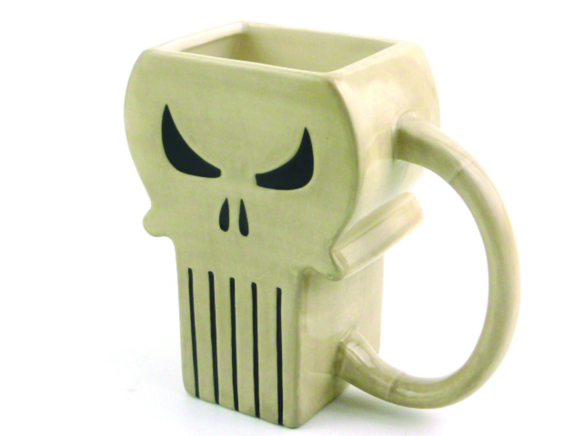 taza calavera punisher