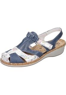 Comfortabel Damen-Sandale Schwarz 710878-1, Grösse 40