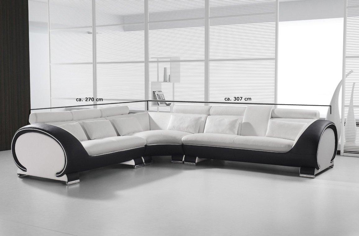 MSA Sam VIGO Combi 4 Sofá de esquina, 254,5 x 286,5 cm ...