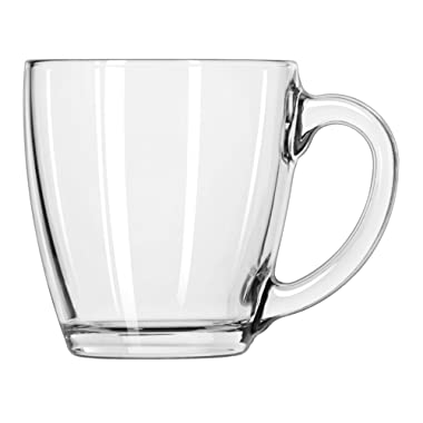 Libbey 15-1/2-Ounce Tapered Mug, Box of 6, Clear