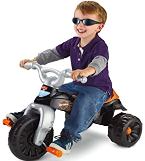 Amazon.com: Triciclo resistente de Fisher-Price, Negro: Toys ...