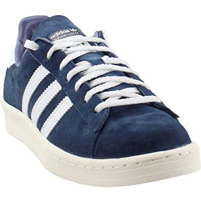 Men'sWomen's Adidas Originals Campus 80s Casual Shoes Navy