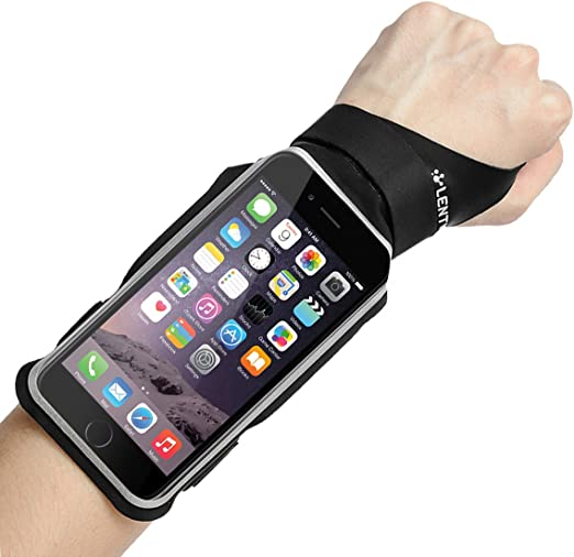 "Amazon.com: LENTION iPhone 7 / 6s / 6 Touch Screen Forearm Band, Wristband,  Running Armband with Key ID Cash Holder for Cycling, Jogging, Exercise,  Sports (for Phones from 4.0""- 5.0"")"