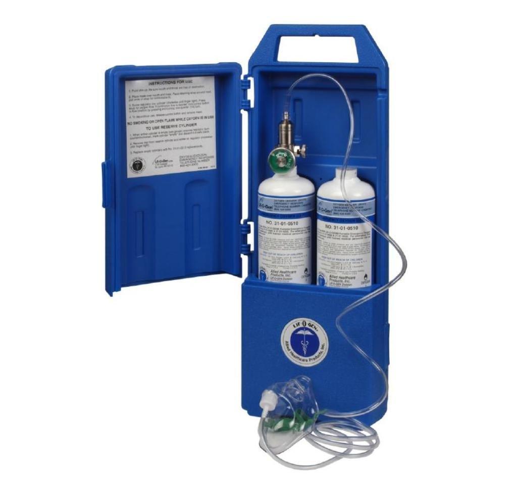 Lif-O-Gen Disposable Portable Emergency Oxygen Kit