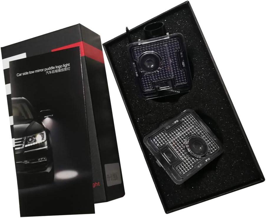 MK3.5 2014-2018year Juego de 2 proyectores retrovisores laterales compatibles con Focus RS Car