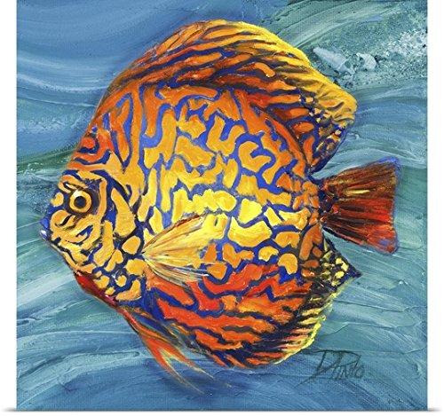 Patricia Pinto Poster Print entitled Vibrant Sea Life IV
