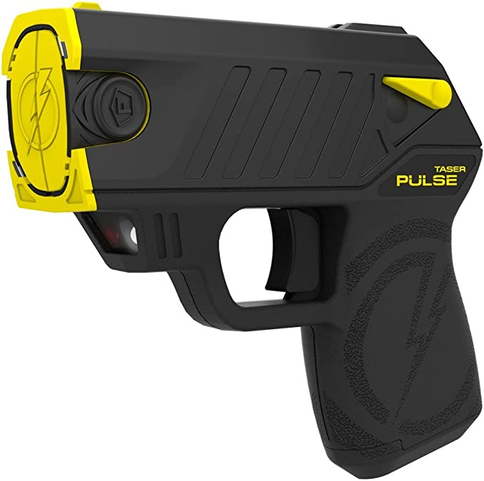 Taser Pulse Self-Defense Tool - Includes 2 Live Cartridges and Conductive Target
