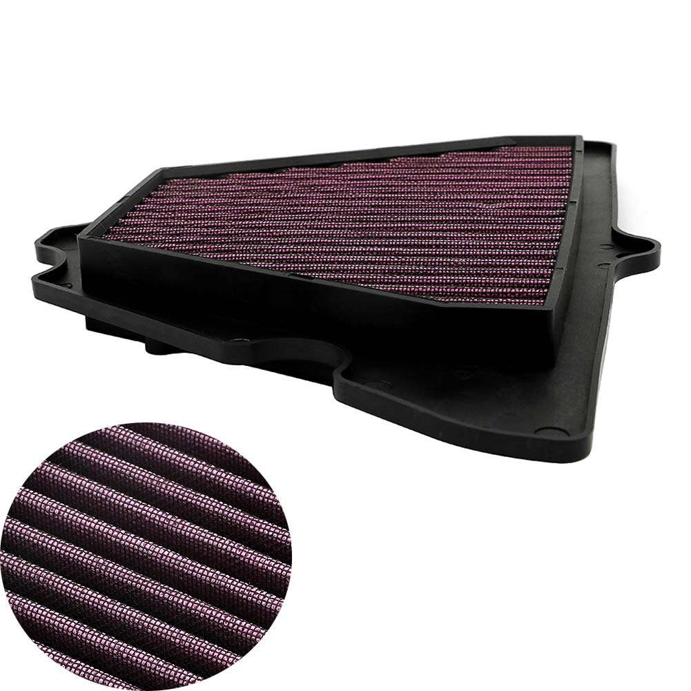 Amazon.com: Motoparty Air Filter Intake Cleaner For Kawasaki ...