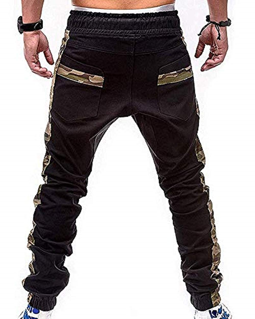 Percy Perry Mens Athletic Workout Sweatpants Casual Trousers