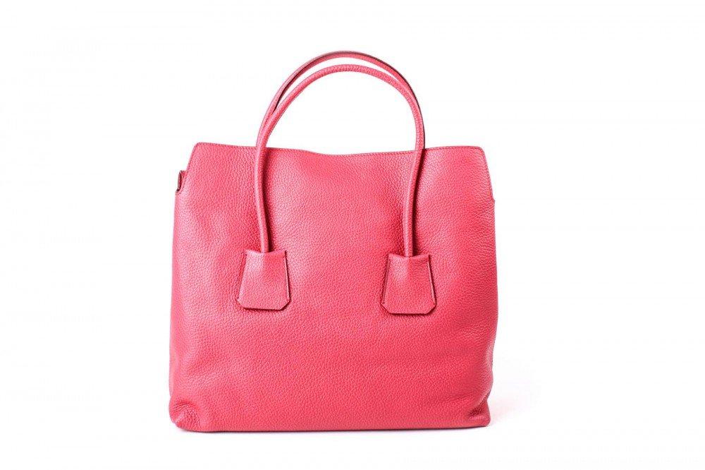 Burberry Women's Grainy Leather Medium Baynard Pink Tote Handbag by BURBERRY (Image #4)