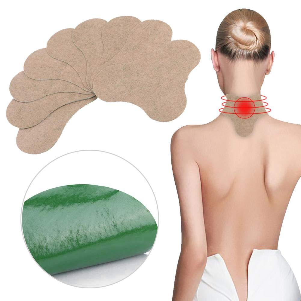 Moxibustion Stickers,Moxibustion Patch Wormwood Sticke Heating Pads Pain Relief Patches For Joints/Neck/Shoulders/Back/Legs 10Pcs/Box