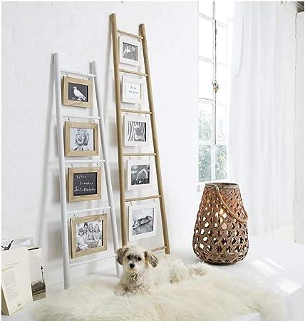 Portaretratos escalera para inclinar sobre la pared, madera ...