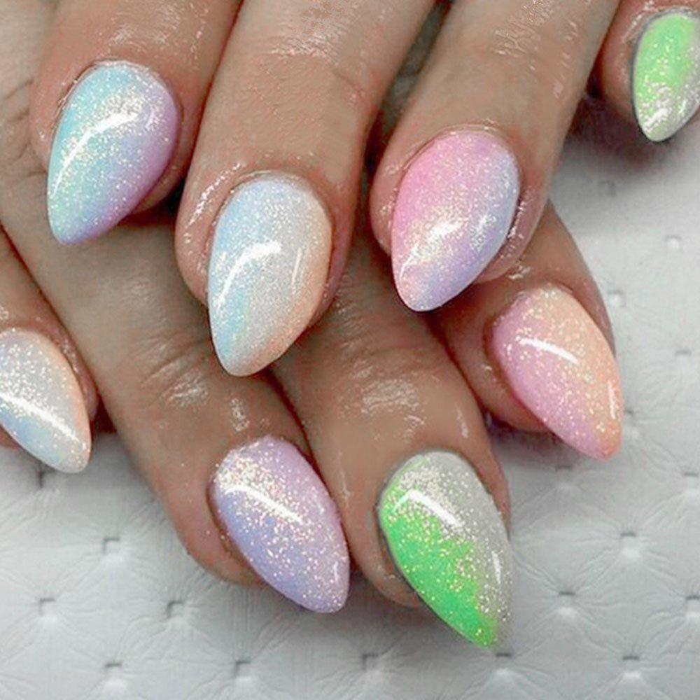 Uñas arte Glitter polvo mágico polvo brillo - Sirena brillo brillo ...