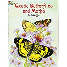 Exotic Butterflies And Moths Dover Nature Coloring Book