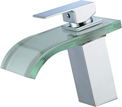 NEW Chrome Bathroom Sink Vessel Faucet Ceramic 1 Handle Hole Mixer Water Tap
