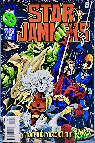 1995 - Marvel Comics - StarJammers #1 Comic Book - Cepheid Variable - Foil Cover - Limited Series from X-Men - - Cover Cam Amber