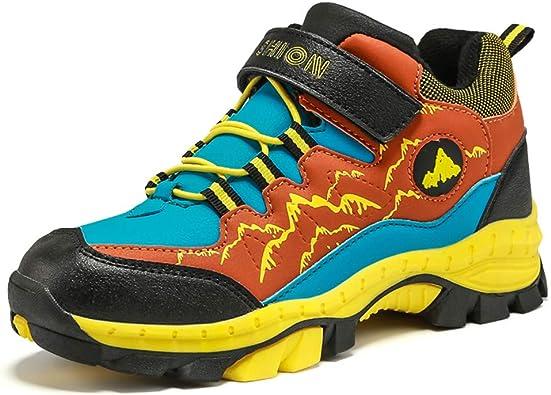 Licy Life-UK Unisex Zapatos Zapatillas Botas de Senderismo Trekking Explore Deportiva Cálido Algodón Waterproof Antideslizante para Niños^Niñas: Amazon.es: Zapatos y complementos