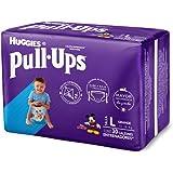 Huggies Pull-Ups Calzoncitos Entrenadores, Talla Grande Niño, Paquete con 30 Piezas, Ideal para niños de entre 15 a 18 kg