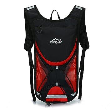 West ciclismo 2L ciclismo mochilas bicicleta bolsa mochila MTB bicicletas de carretera ciclo equipo deportes correr senderismo camping bolsas, hombre mujer, ...