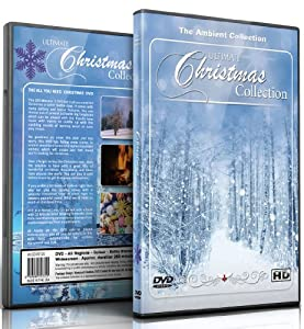 Christmas DVD - Christmas Collection Videos of Falling Snow, Christmas Lights & Fireplaces from Isis Asia Ltd