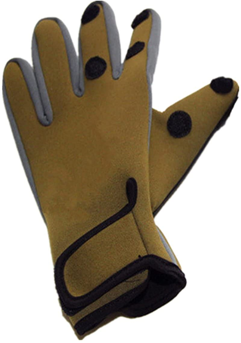 WEIFEI Outdoor Sports Riding Cold Can Expose Three Fingers Wear-resistant Anti-skid Waterproof Gloves