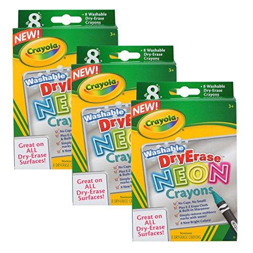 Crayola Whiteboard Washable Erasable Crayons