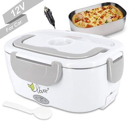 Fiambrera eléctrica comida térmico Lunch Box Fiambreras bento Uso ...