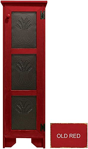 Sawdust City Pie Cabinet Old Red