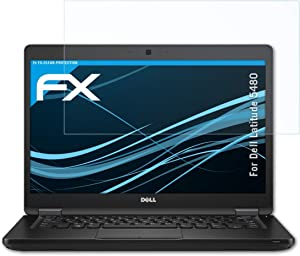 atFoliX Screen Protection Film Compatible with Dell Latitude 5480 Screen Protector, Ultra-Clear FX Protective Film (2X)