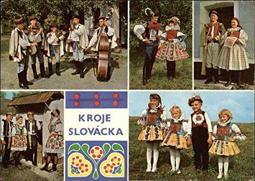 Kroje - Folk Costumes Eastern Europe Czech Republic Original Vintage (Czech Folk Costume)