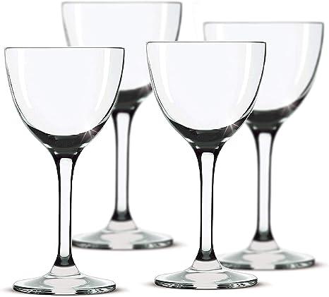 Entertaining Set of 4 Algonquin Cocktail Glass