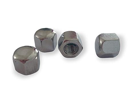 10 Stück  Hutmuttern DIN 917  M10  Form niedrig   EDELSTAHL  V2A A2