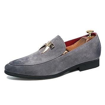 7fa9058f414 Zapatos de Gamuza/Formal para Hombre Primavera/Verano/Otoño Negocio/Low-