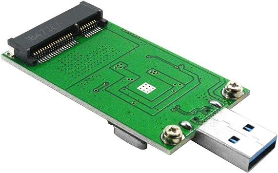 Adaptador mSATA de GODSHARK, Adaptador mSATA a USB, Lector USB a ...
