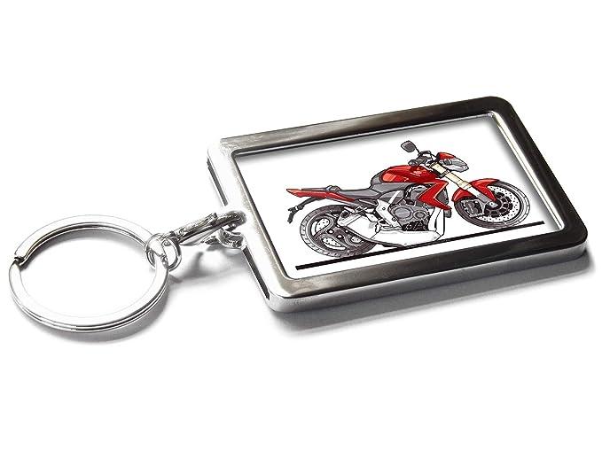Koolart Cartoon Moto Honda CB100R Llavero de Metal Caja de Regalo ...
