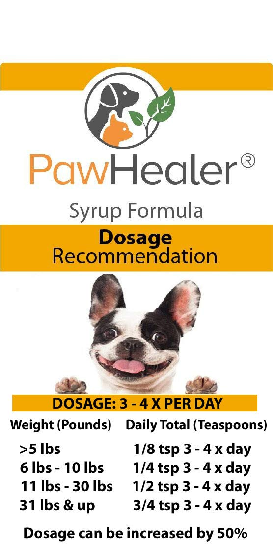 PawHealer® Dog Cough Remedy - Hound Honey: Phlegm Heat - 2PAK - Loud - Honking Cough 5 fl oz ea Bottle... by PawHealer®